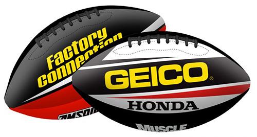 Smooth Industries Geico Honda Soft Football
