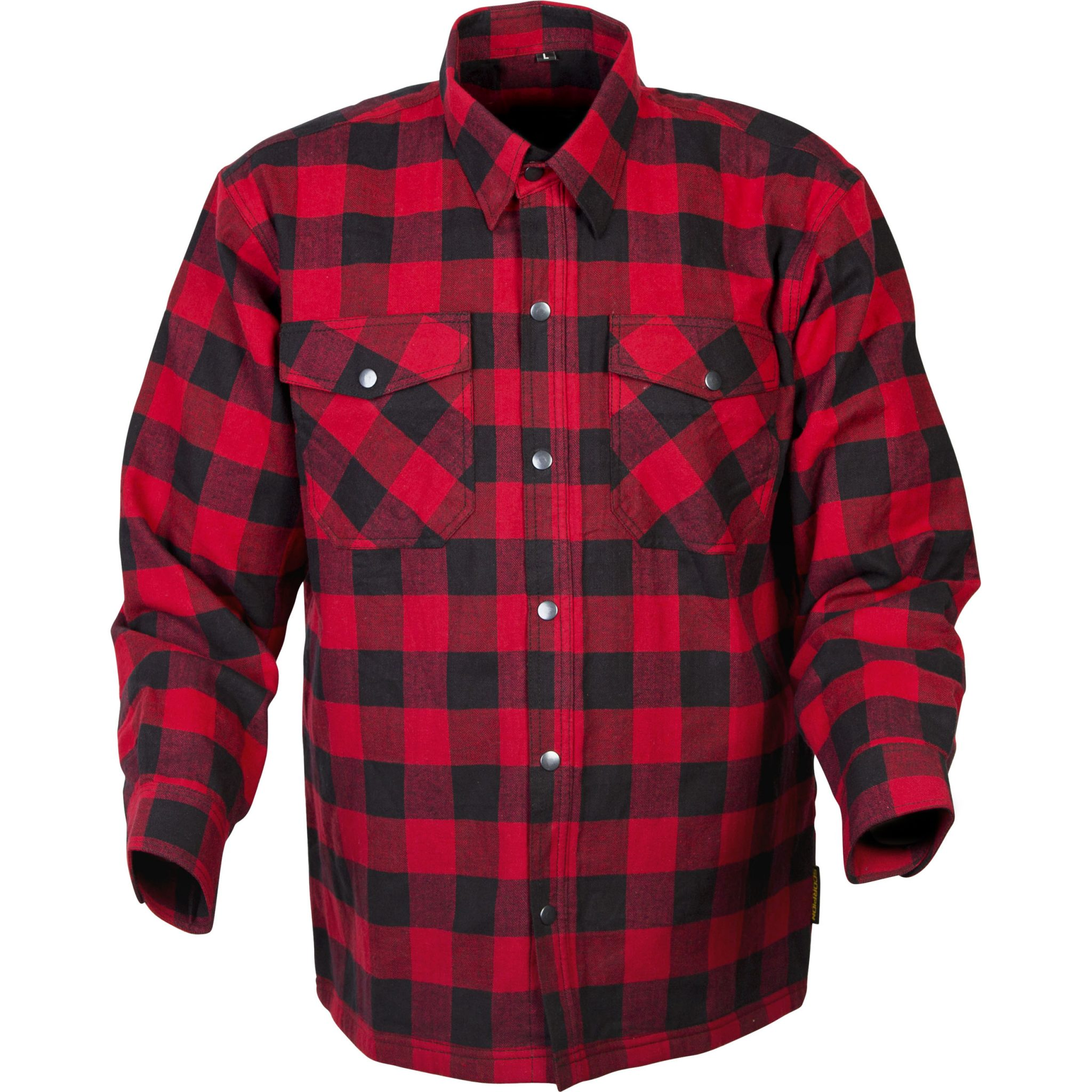 Scorpion covert flannel shirt mx alliance for Polyester lined flannel shirts