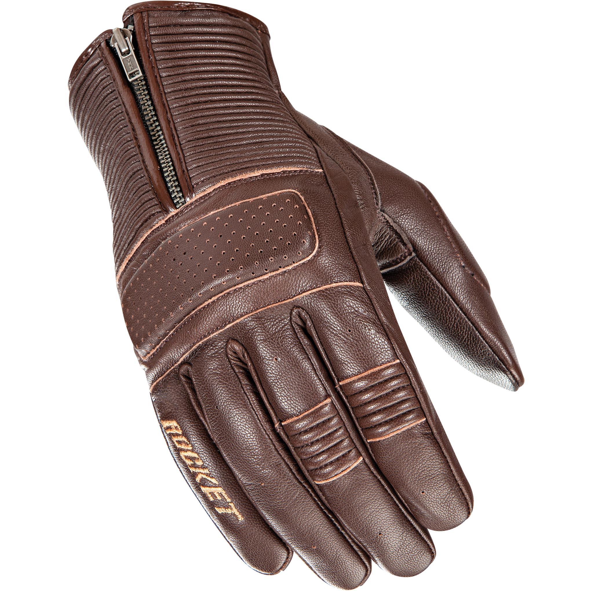 Brown Cafe Racer Gloves