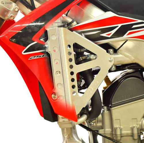 Mx Knee Braces >> Devol Radiator Braces Honda - MX Alliance