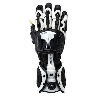 knox_handroid_gloves_black_white_detail