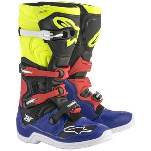 alpinestars_tech5_boots_blue_black_yellow_red_detail