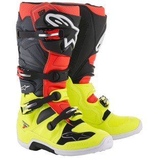 alpinestars_tech7_boots_yellow_red_grey_black_detail