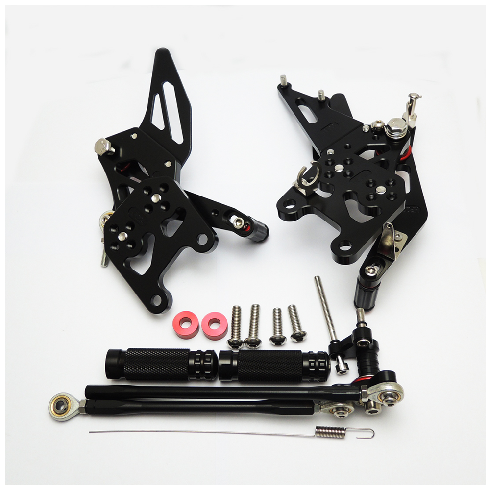 Footrest Rearset For CBR600RR//ABS Rear Pedals Set Brake Shift Honda 2007-16