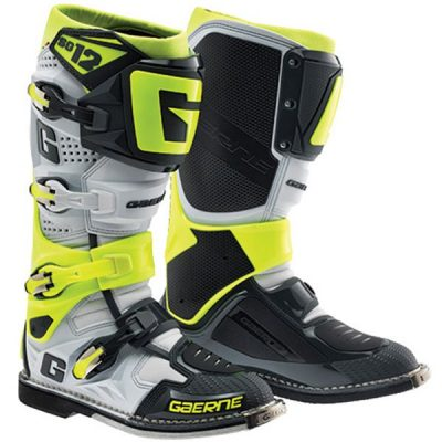 gaerne-sg-12-boot-neon-white-black