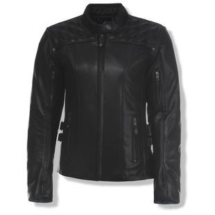 olympia_ladies_janis_leather_jacket_black_detail
