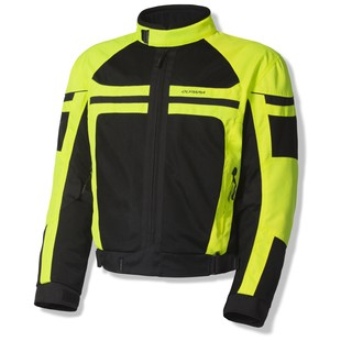 olympia_newport_jacket_neon_yellow_black_detail