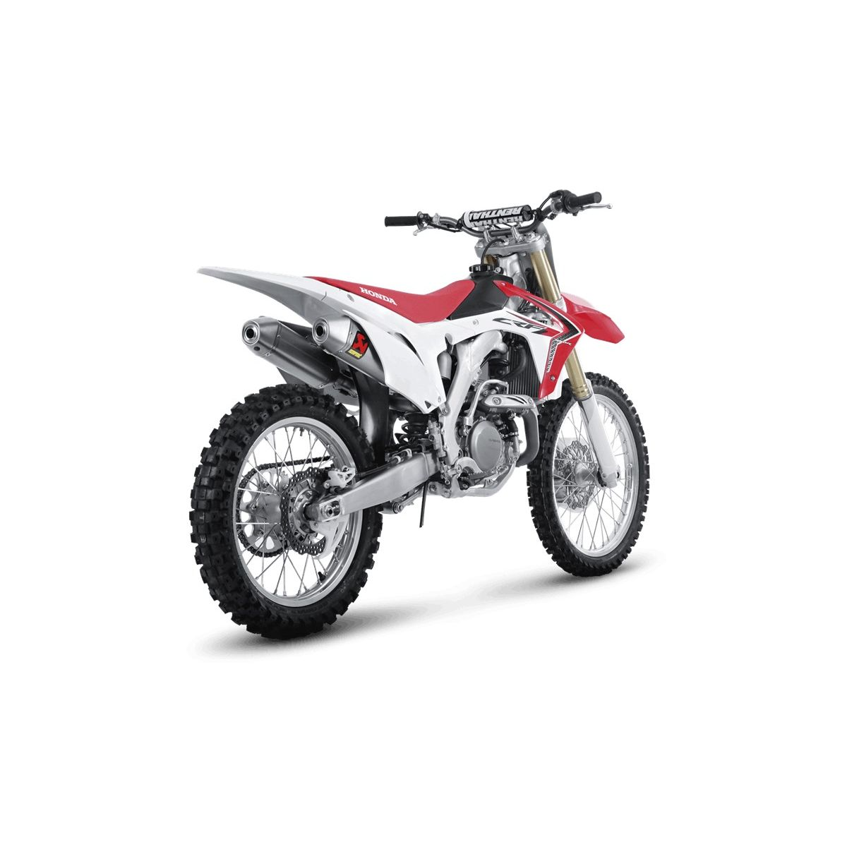 akrapovic off road slip on exhaust mx alliance. Black Bedroom Furniture Sets. Home Design Ideas