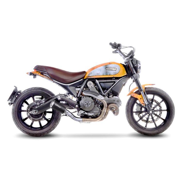 LeoVince LV-10 Slip-On Exhaust Ducati Scrambler - MX Alliance