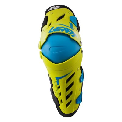 leatt_dual_axis_knee_guards_lime_blue_rollover