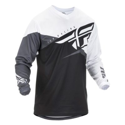 fly_racing_dirt_f16_jersey_black_white_grey_rollover