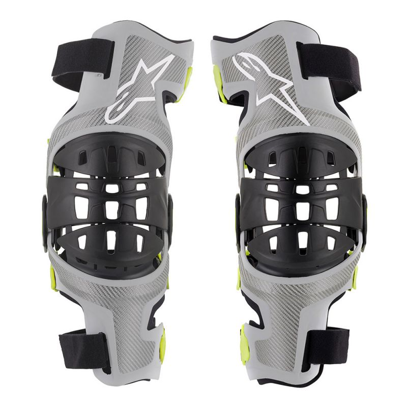 Mx Knee Braces >> Alpinestars Bionic 7 Knee Brace Set