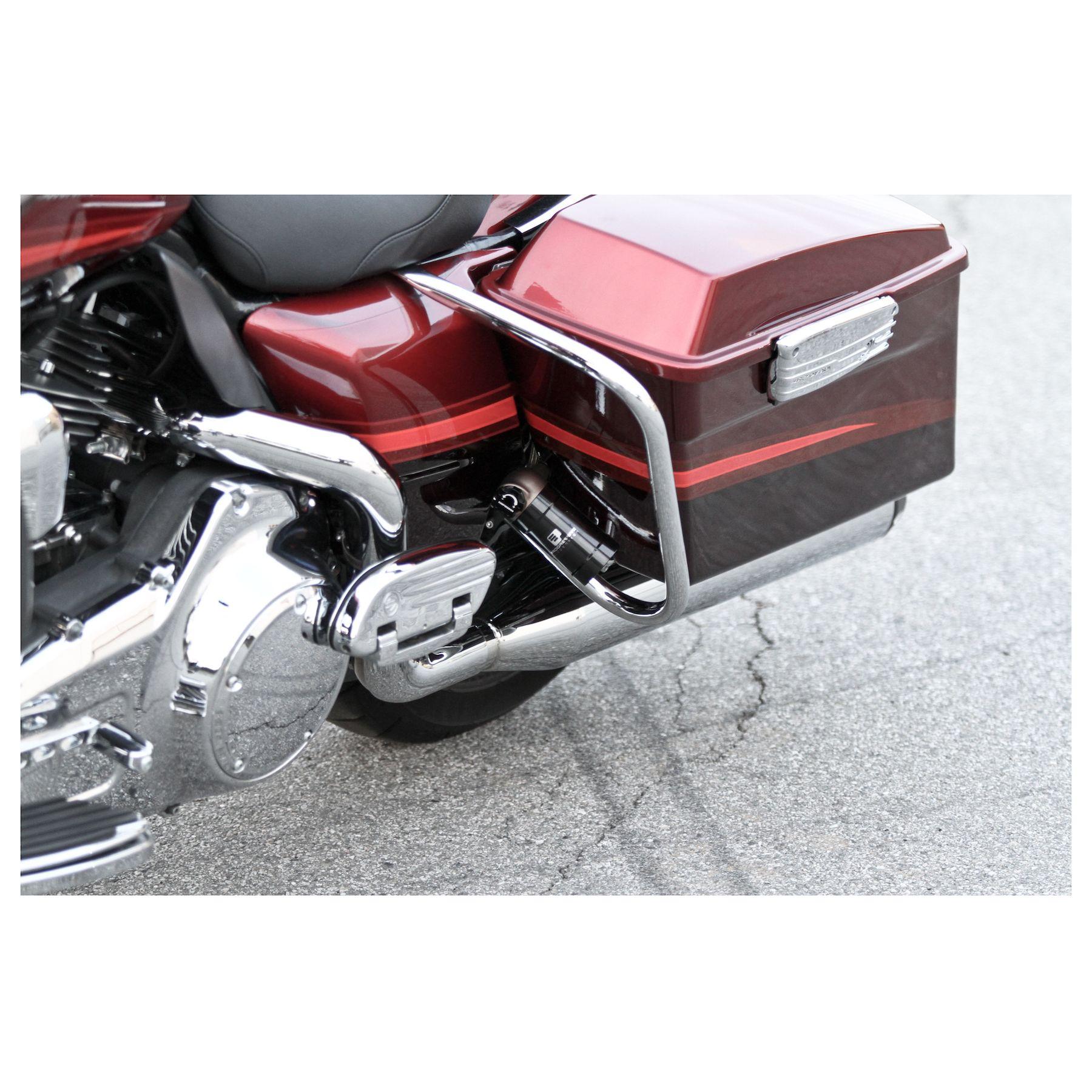 Progressive 970 Remote Reservoir Shocks For Harley Touring 1993-2019