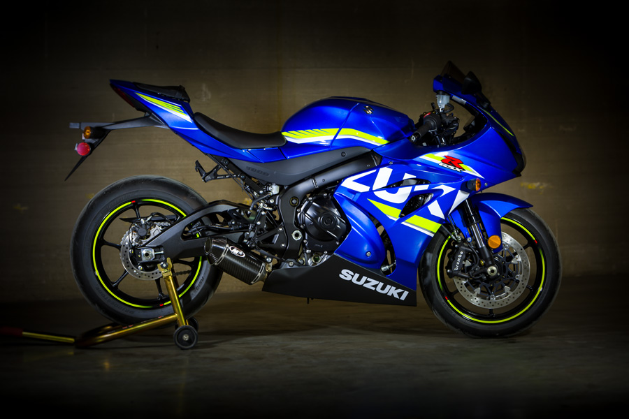 M4 2017-18 Suzuki GSXR 1000 FULL SYSTEM WITH CARBON STREET SLAYER CANISTER