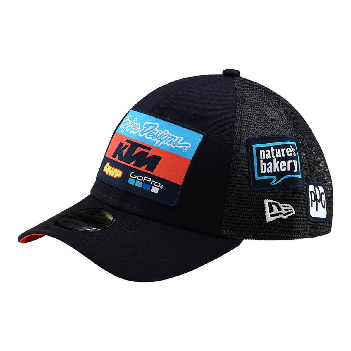 TROY LEE DESIGNS 2019 TLD KTM TEAM CURVE SNAPBACK HAT - MX Alliance 7893fcb6368