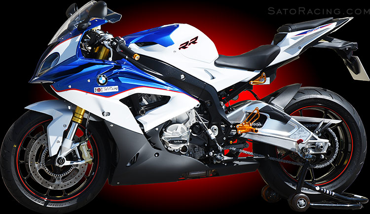 Sato Racing BMW S1000RR ('15- ) Race Concept REAR SETS